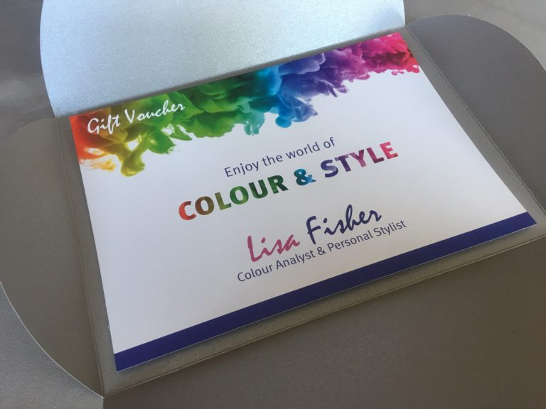 Lisa Fisher Gift Voucher Lisa Fisher Colour and Style