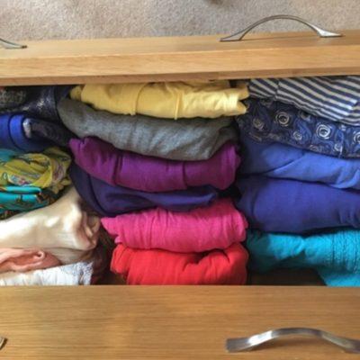 Organised drawers