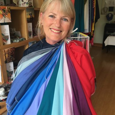 Jan in her best colours Lisa Fisher Colour and Style
